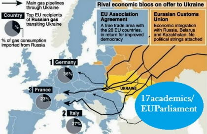 Rival economic blocs on offer to Ukraine