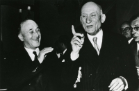 EU architects during the 50s, Jean Monnet and Robert Schuman